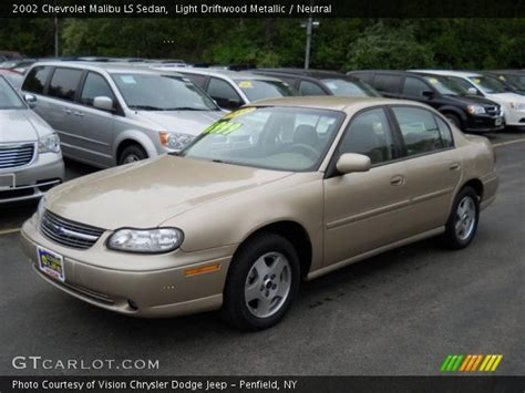 driftwood ls for sale light driftwood metallic 2002 chevrolet malibu ls sedan