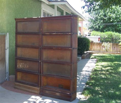 gunn bookcases for sale 5 section lawyer bookcase for sale antique barrister