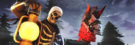 fortnite skull trooper hd wallpaper