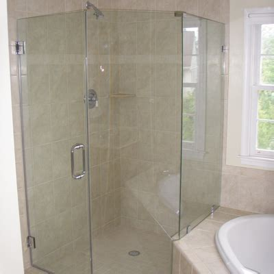 neo angle shower doors neo angle frameless shower enclosure installation va md dc