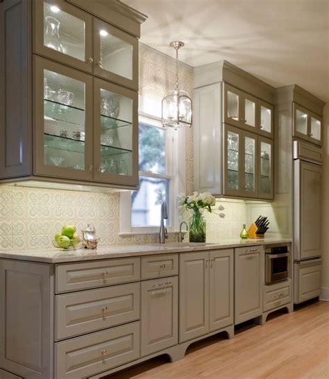 Traditional Kitchen Backsplash Encore Ceramics Anticipation Deco Field Hand Glazed In