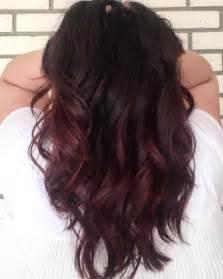 cherry hair color 17 best ideas about black cherry hair on black
