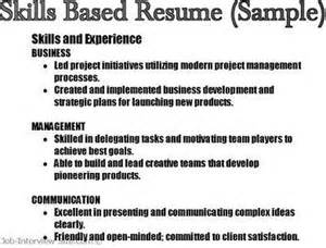 sle of skills and abilities in resume communication skills resume exle http www