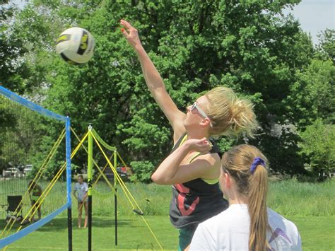 backyard volleyball rise outdoor volleyball tournament series