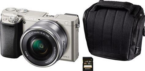 Kamera Sony Zoom sony alpha ilce 6000l system kamera 16 50mm zoom inkl
