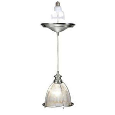 pendant light kit home depot worth home products instant pendant series 1 light brushed