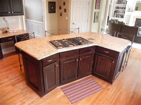 kitchen island stove top kitchen island curved next home wish list pinterest