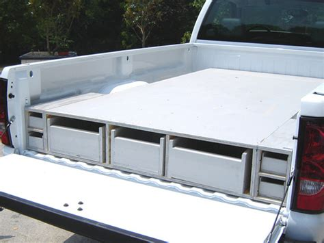 slide out truck bed diy truck bed slide