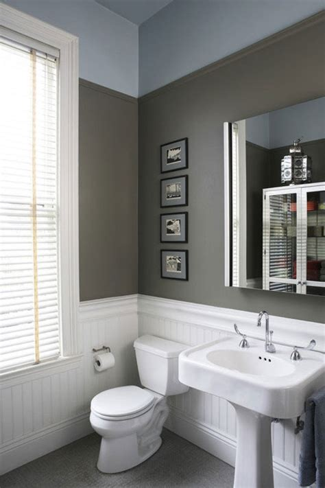 half bath with 2 tone paint for the home pinterest design definitions what s the difference between
