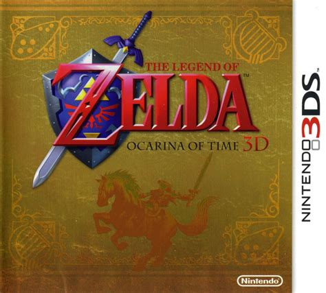 the legend of ocarina of time nintendo wiki fandom powered by wikia the legend of ocarina of time 3d 2011 nintendo 3ds box cover mobygames