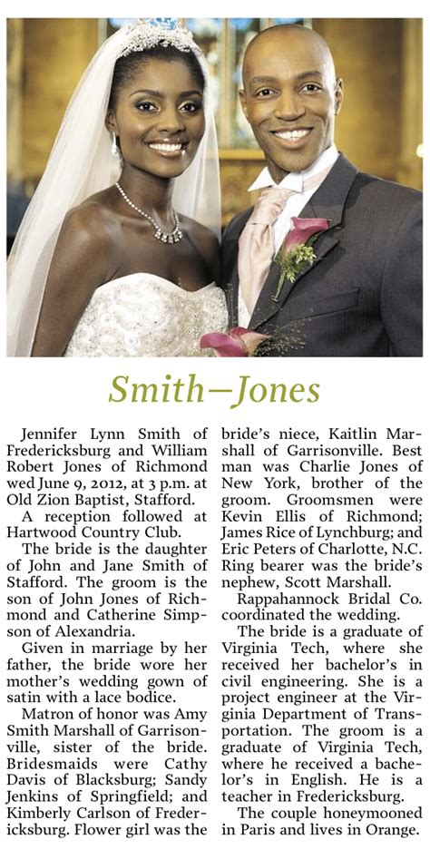 Wedding Announcement Exles For Newspaper by Newspaper Wedding Announcement Wording Ideas And