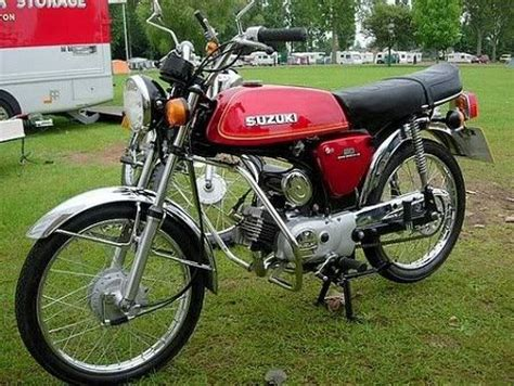 Suzuki Ap 50 Who Had A Suzuki Ap50 Moped Now A Classic That Lots Of