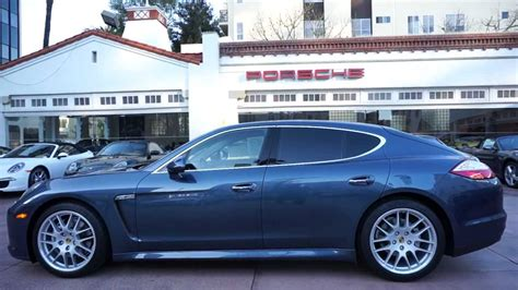 porsche panamera yachting blue panamera s yachting blue with mahogany wood trim beverly