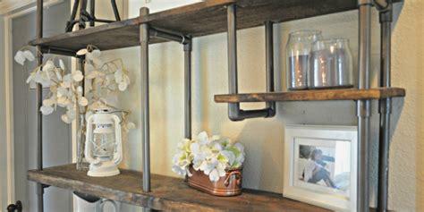 remodelaholic build  budget friendly industrial shelf