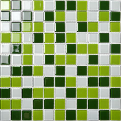 glass mosaic tiles white and orange mixed crystal glass glass mosaic tile backsplash kitchen wall tiles green and