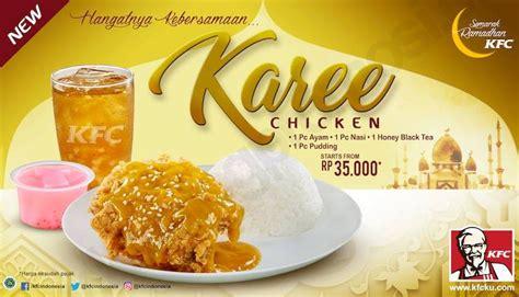 Promo Hush Puppies Tanggal Black kfc menu new kfc karee chicken paket combo mulai rp 35
