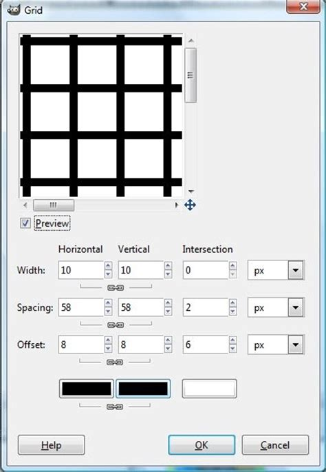 gimp making a grid all things gimp gimp tutorial making simple waffle