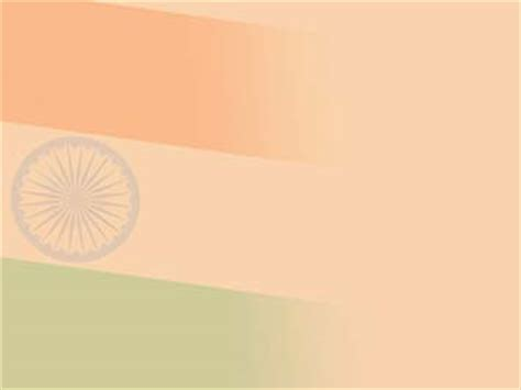 India Flag 02 Powerpoint Templates India Powerpoint Template