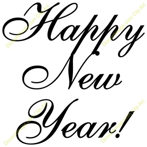 Happy New Years Clip by Religious Happy New Year Clipart Clipart Suggest