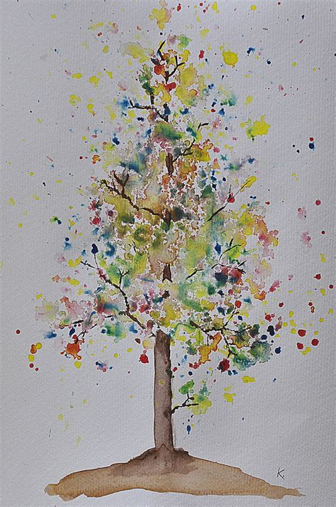 tutorial watercolor trees watercolour jacaranda tree tutorial be a fun mum