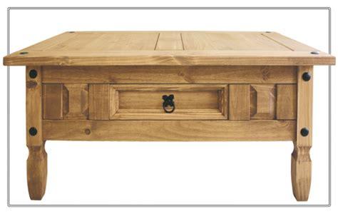 mesa centro con cajones mesa centro madera maciza estilo r 250 stico con caj 243 n