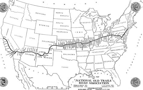 map of the us highway 40 u s route 40 national trails to highway