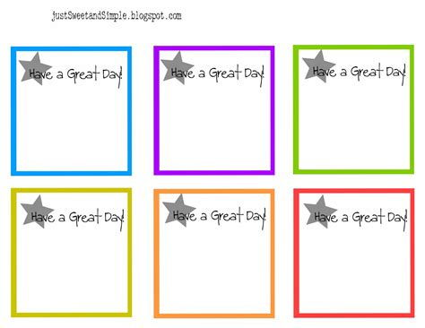 free printable birthday reminder cards just sweet and simple little lunch notes reminder notes