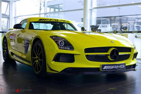 neon yellow mercedes sls amg black series gtspirit