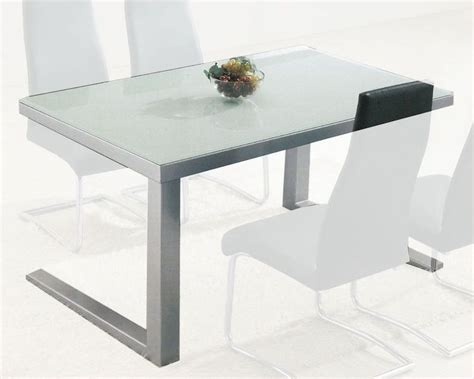 modern glass top dining table ol dt05