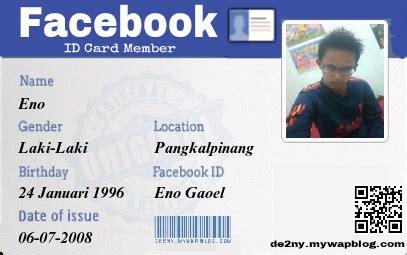 cara membuat id card naruto cara membuat ktp facebook atau id card facebook eno 24