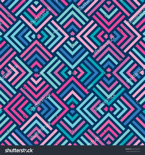 pattern in blue color vector color pattern geometric background vectores en