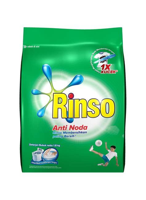 Rinso Detergent Anti Noda 1 8kg rinso deterjen powder anti noda bag 1 8kg klikindomaret
