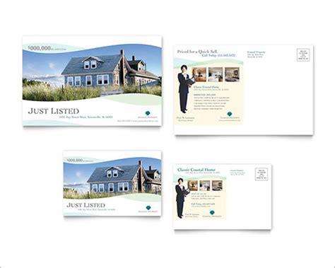 real estate postcards templates sle real estate marketing postcard templates