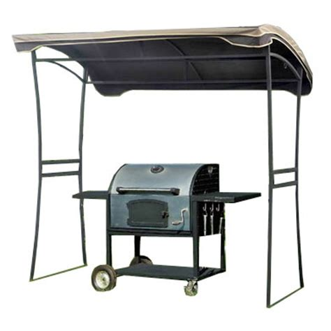 Grill Awning by Replacement Canopy For Curved Grill Shelter Garden Winds