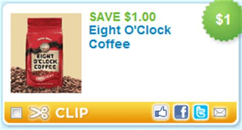 printable eight o clock coffee coupons eight o clock coffee 1 1 coupon moms need to know