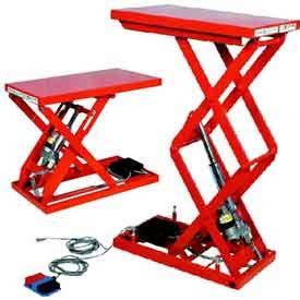 Harga Pallet Pac hydraulic scissor lift tables electric air powered lift