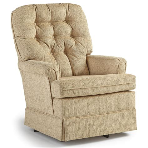 Best Home Furnishings Chairs Swivel Glide 1009 Joplin Swivel Rocker Chairs