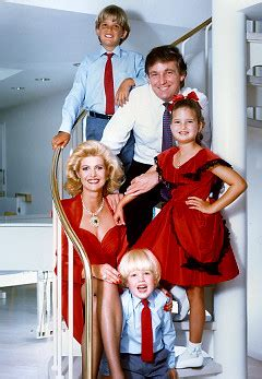 donald family photos famous families celebrity genealogy famous last names