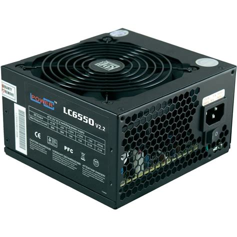 alimentatore lc power pc power supply unit lc power lc6550 v2 2 550 w atx 80
