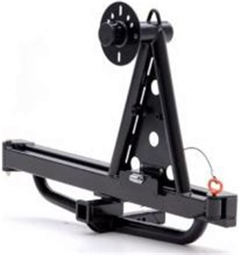 hitch mounted spare tire carrier swing away 4wd accessories 4wd accessories by products barwork