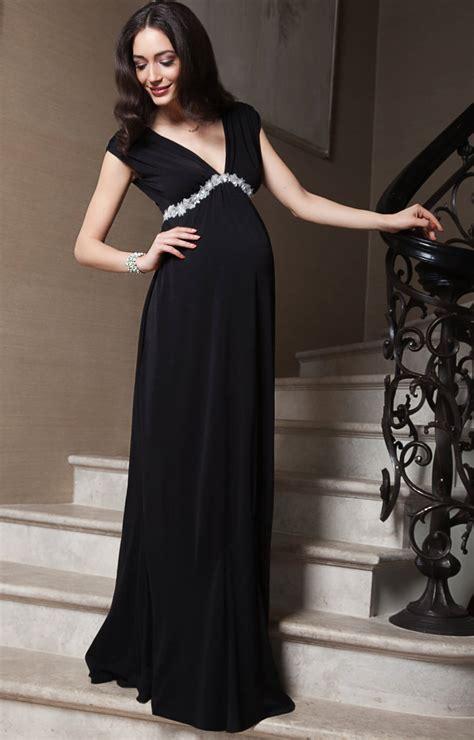 aurora maternity gown long black maternity wedding