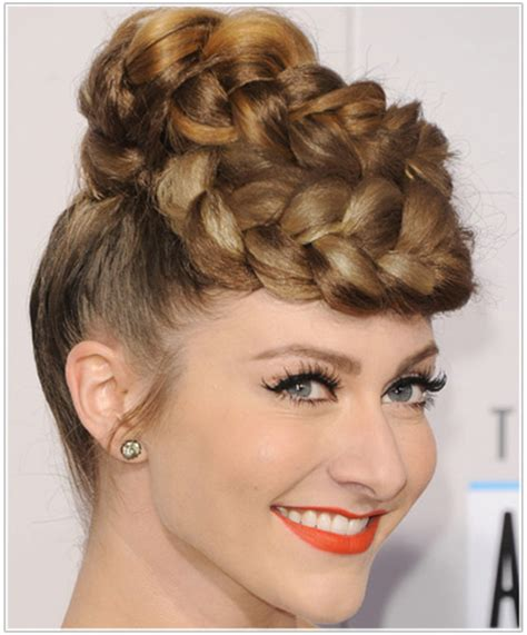 hairstyles using banana clips spotted celebs in painful looking hairstyles