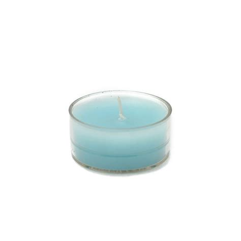 zest candle 1 5 in turquoise blue tealight candles 50 pack ctz 006 the home depot
