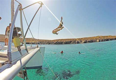 catamaran charter mykonos mykonos catamaran day charters mykonosgreece