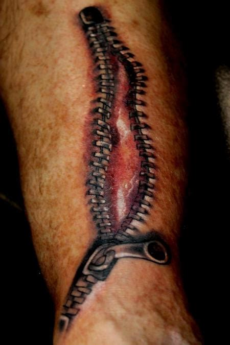zipper tattoos designs 60 most amazing zipper tattoos golfian
