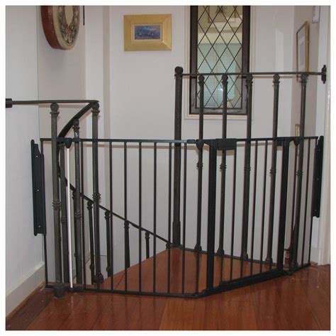 safety gate for top of stairs with banister child safety gates for stairs with banisters neaucomic com