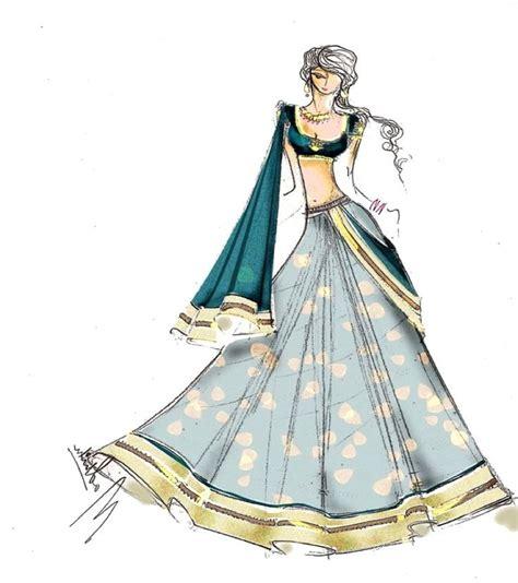 Fashion Wedding by Fashion Sketches Of Indian Wedding Dresses Www Pixshark