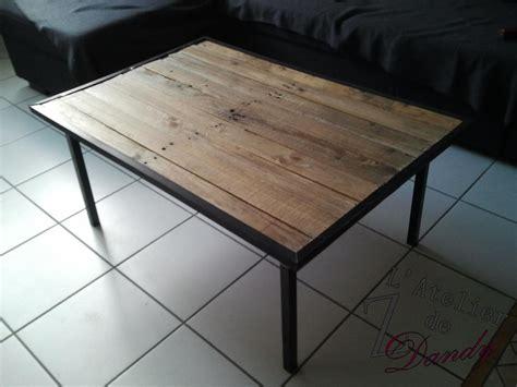Table Basse En Palette Bois by Une Table Basse En Bois De Palette