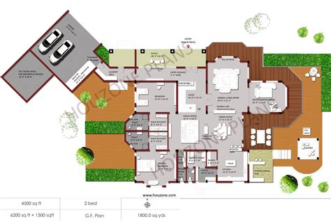 Indian House Floor Plans Indian Home Design Houzone