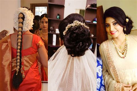Kerala Wedding Hairstyles Image by Christian Bridal Hairstyles In Kerala Www Imgkid